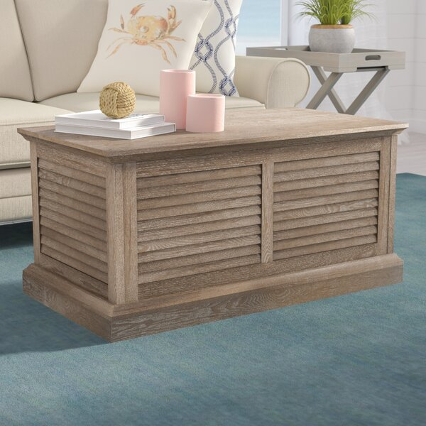 Adreanna Coffee Table with Storage by Beachcrest Home