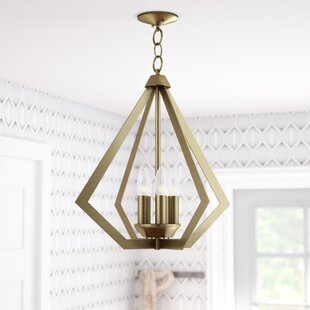 Art deco chandelier light wayfair save aloadofball