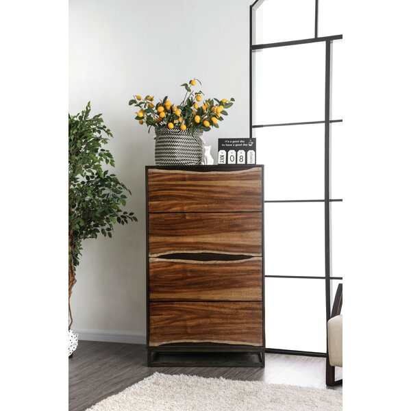 Odysseus 4 Drawer Chest by 17 Stories