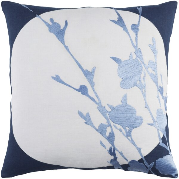 Flying Colors Harvest Moon Linen Pillow Cover by emma at home by Emma Gardner