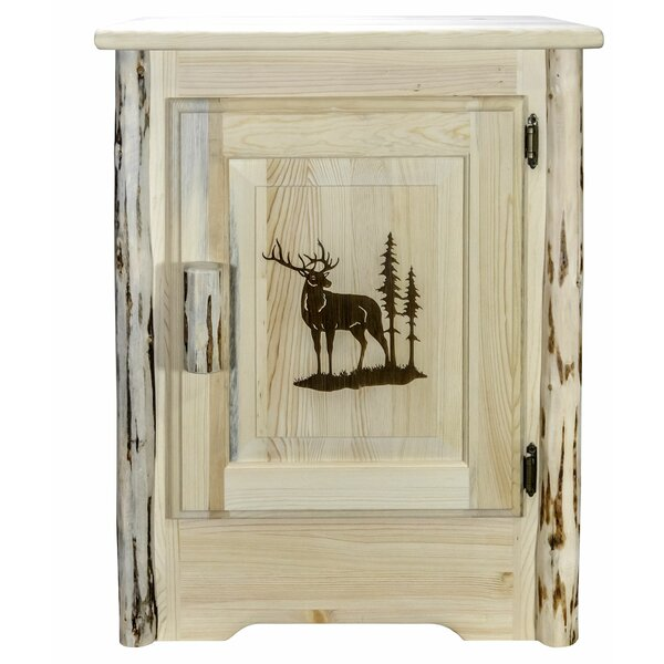 Shroyer 1 Door Accent Cabinet by Millwood Pines