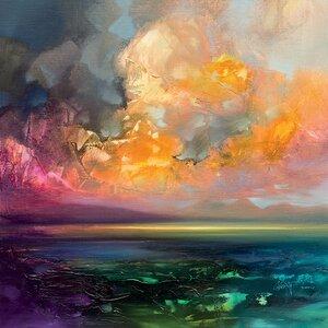 'Isle of Jure' by Scott Naismith Print on Canvas