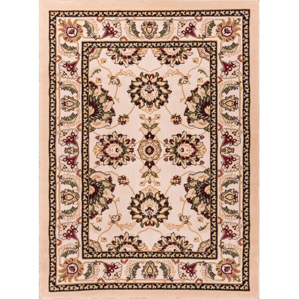 Harbert Ivory Area Rug by Charlton Home
