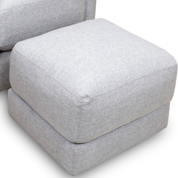 Charlaine Ottoman by Bungalow Rose