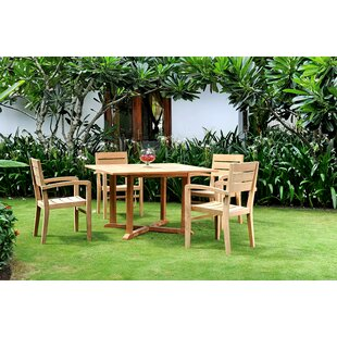 Vang Teak 5 Piece Dining Set By Darby Home Co