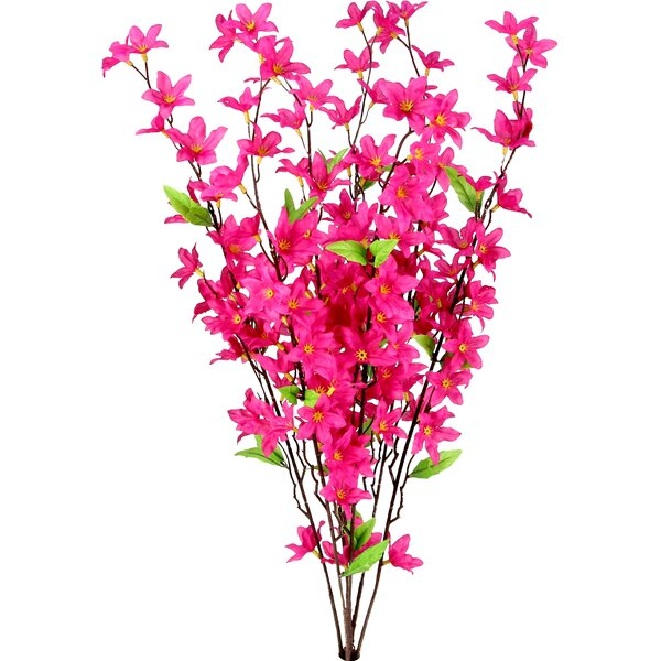 Artificial Star Flower Bush by Laurel Foundry Modern Farmhouse