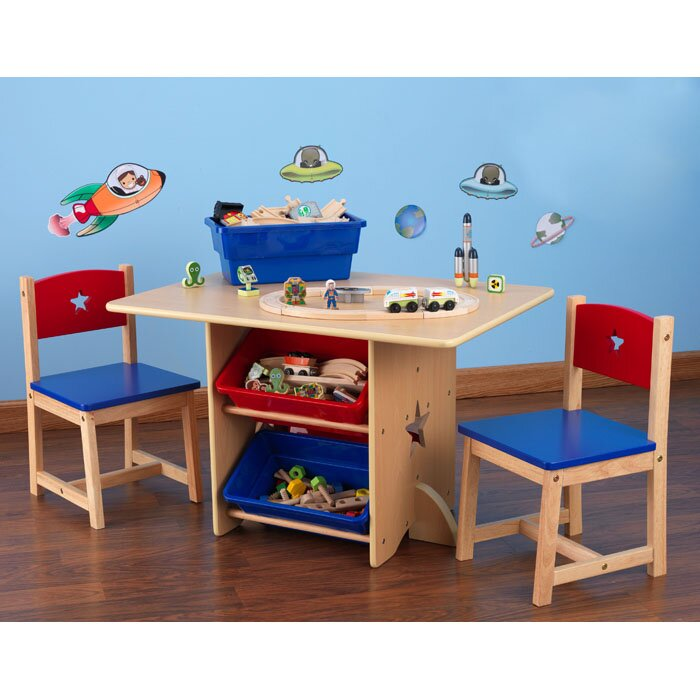 Star Kids 5 Piece Table and Chair Set  sc 1 st  AllModern & Star Kids 5 Piece Table and Chair Set \u0026 Reviews | AllModern