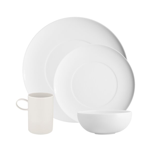 Domo 4 Piece Place Setting, Service for 1 by Vista Alegre
