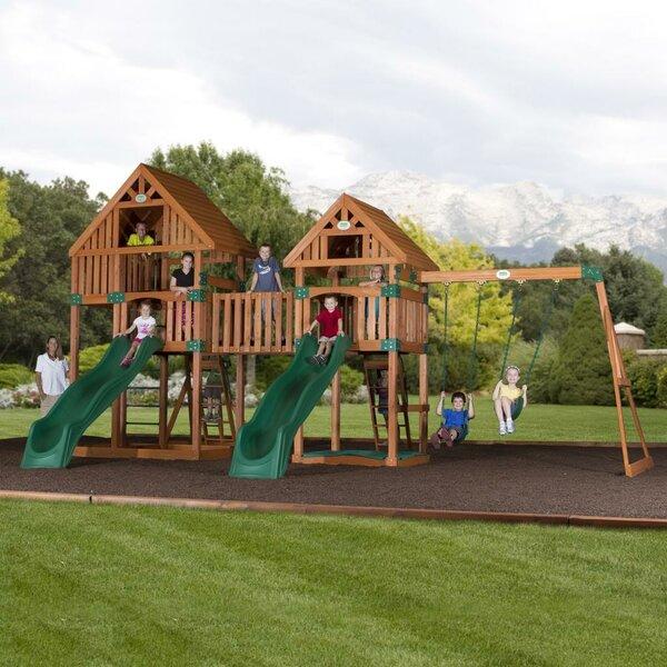 Vista Cedar All Cedar Swing Set by Backyard Discov