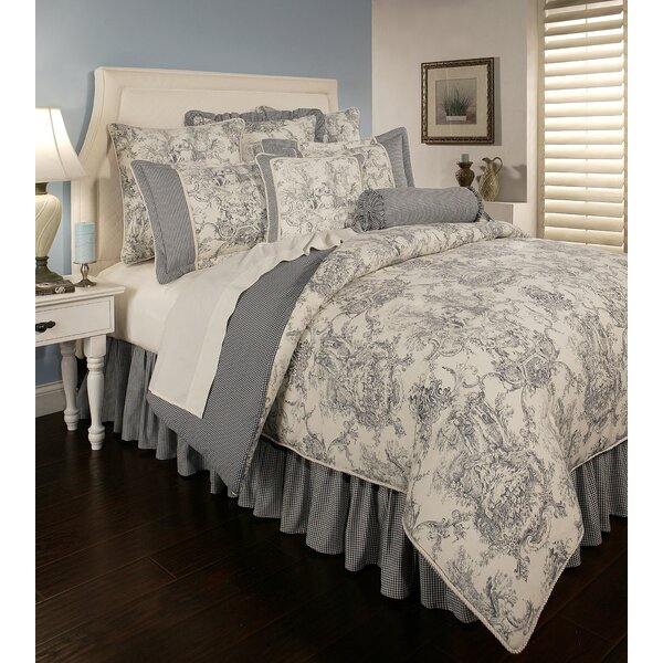 Caryn Cotton 6 Piece Reversible Comforter Set