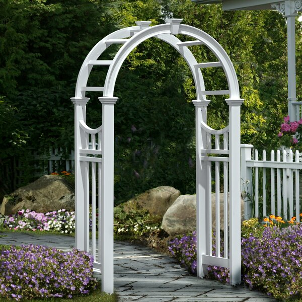 Vienna Vinyl Arbor by New England Arbors