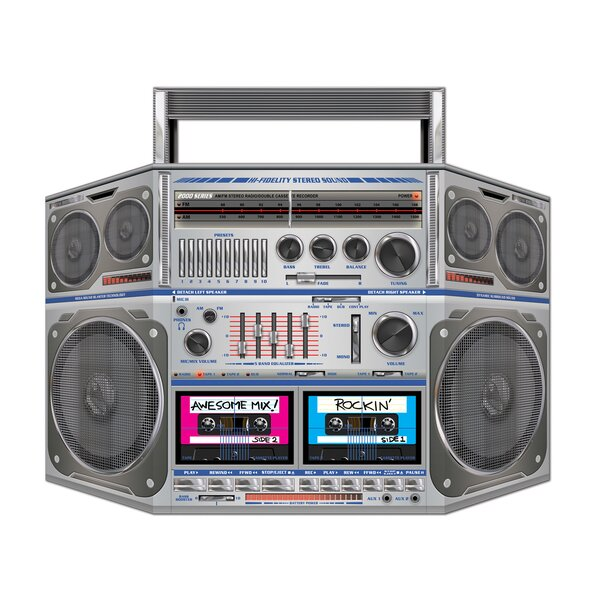 Boom Box Stand-up by The Beistle Company