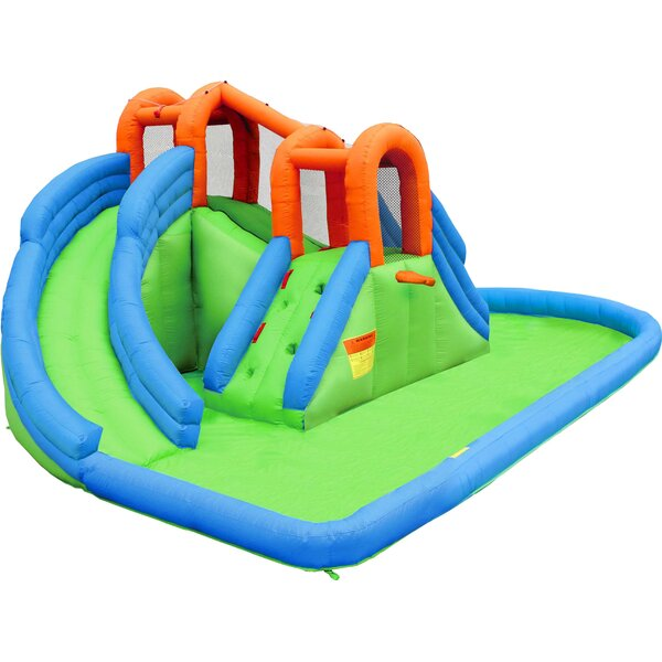 Inflatable Island Bounce House by Bounceland