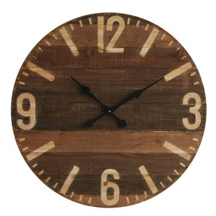 Fawkes Wall Clock by Birch Lane™ Office Furniture