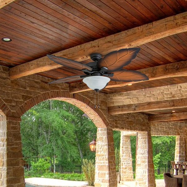 52 Hoffman 5 Blade LED Ceiling Fan by Bay Isle Home