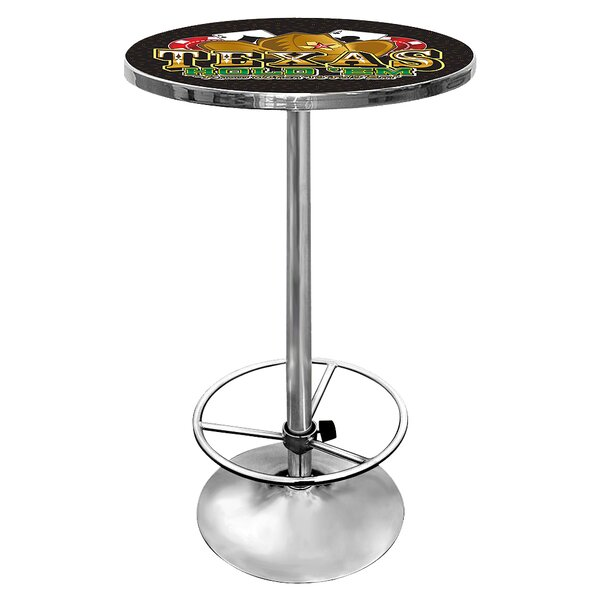 Best Choices Texas Hold'em Pub Table By Trademark Global Sale