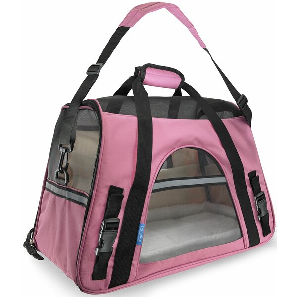 Pet Carrier with Fleece Bed Airline Approved by OxGord