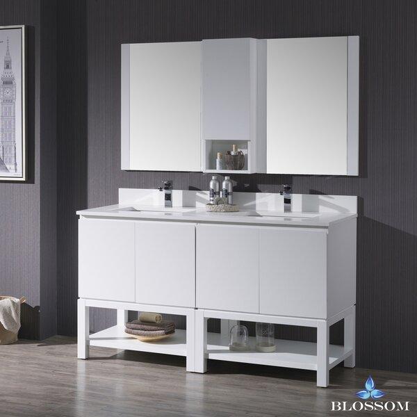 Maly 61 Double Bathroom Vanity Set