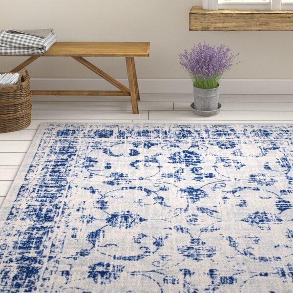 Emmalynn Gray/Blue Area Rug by Ophelia & Co.