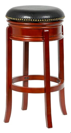Magdaleno 24 Swivel Bar Stool by Winston Porter