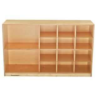 Affordable 14 Compartment Cubby with Casters ByChildcraft