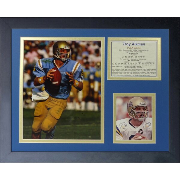 Troy Aikman Framed Memorabilia by Legends Never Die