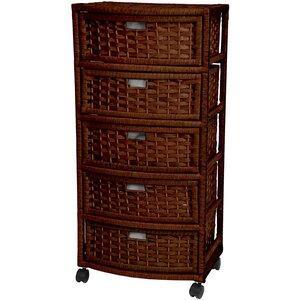 Barr 5-Drawer Storage Chest