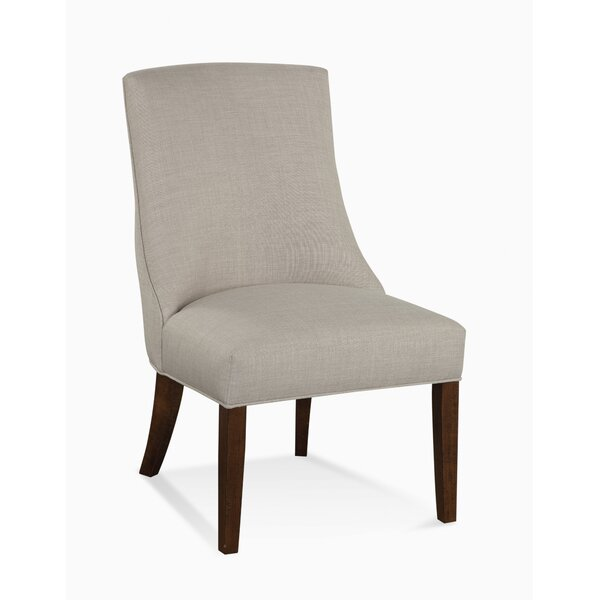 Tuxedo Nailhead Trim Upholstered Dining Chair by Braxton Culler
