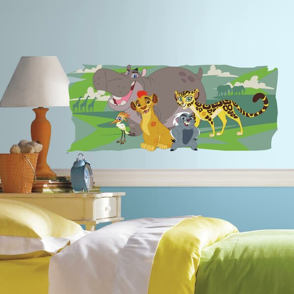 Lion Guard and Friends Peel and Stick Giant Wall Decal by Room Mates