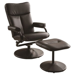 Carles Recliner with Ottoman b..