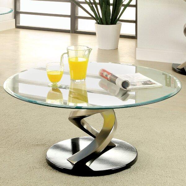 Farren Abstract Coffee Table By Orren Ellis