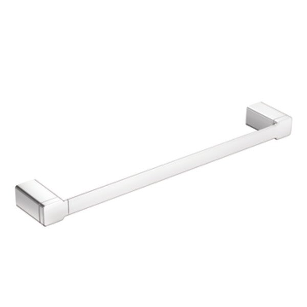 90 Degree 24 Wall Mounted Towel Bar by Moen