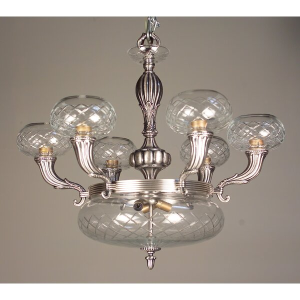 Chatham 9-Light Shaded Wagon Wheel Chandelier By Classic Lighting