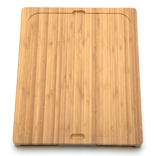 Bamboo Cutting Board with Cutting Mats by Seville Classics