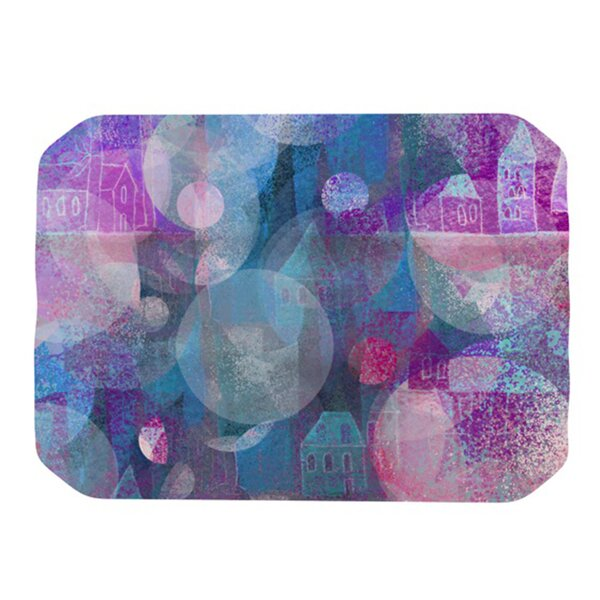 Dream Houses Placemat by KESS InHouse