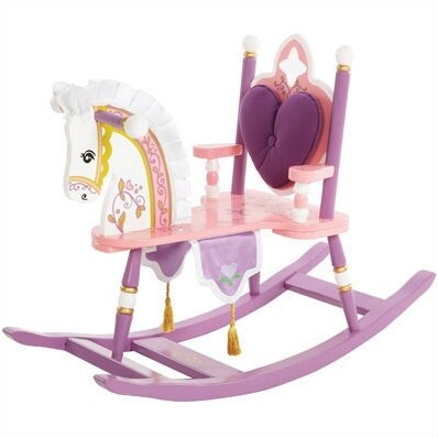 Kiddie Ups Princess Rocking Horse by Levels of Discovery