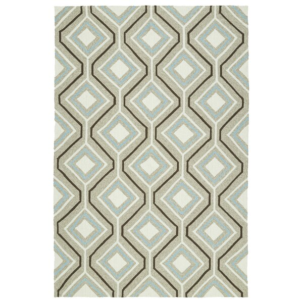 Doylestown Light Brown Indoor/Outdoor Area Rug by Wrought Studio