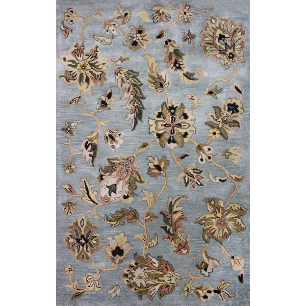 Mitcheldean Blue Rug by Charlton Home