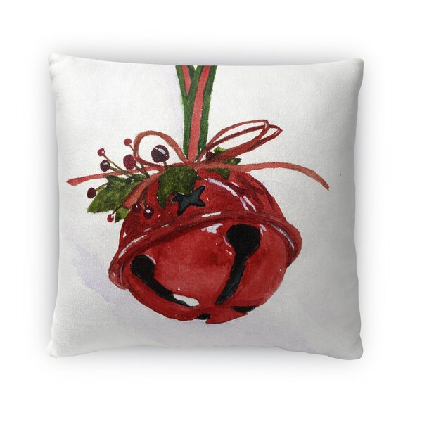 Bell Outdoor Throw Pillow by The Holiday Aisle