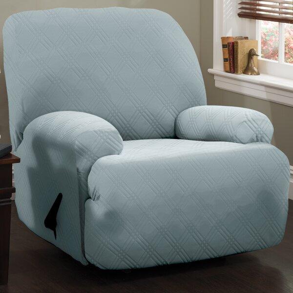 Discount Double Diamond Sensations Box Cushion Recliner Slipcover