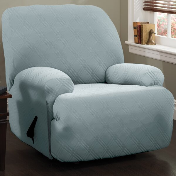 Double Diamond Sensations Box Cushion Recliner Slipcover By Red Barrel Studio