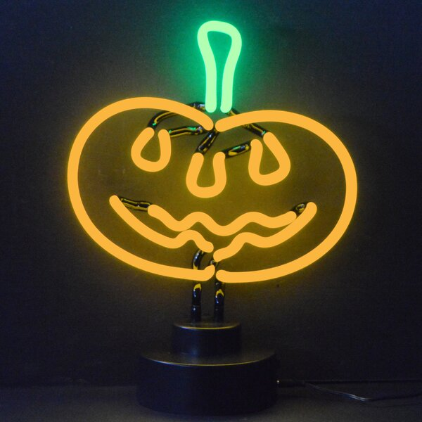 Business Signs Pumpkin Neon Sign by Neonetics