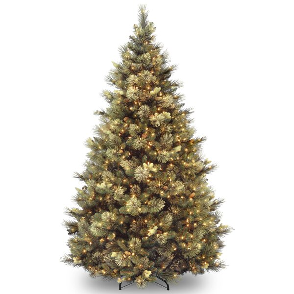 4 Pre Lit Outdoor Christmas Trees Part - 27: Pre-Lit Christmas Trees Youu0027ll Love | Wayfair