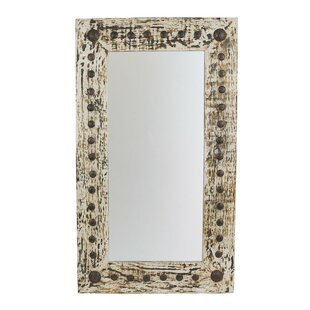 Gracie Oaks Handcrafted Accent Mirror