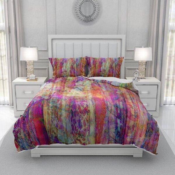 Sherell Color Crush Bedding Duvet Cover Set
