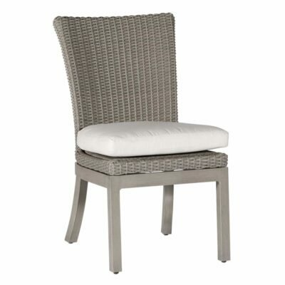 Rustic Patio Dining Chair with Cushion by Summer Classics