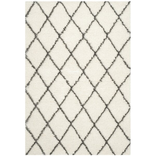 Sewell Moroccan Ivory Area Rug by Brayden Studio