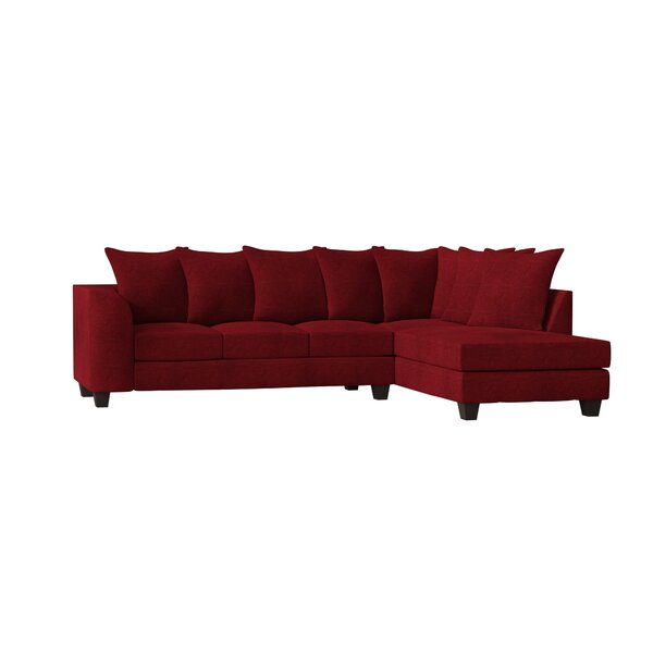 Burwood Right Hand Facing Sectional by Red Barrel Studio Red Barrel Studio
