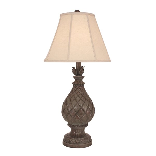 Bridgeport Regal Pineapple 33 Table Lamp by Bay Isle Home