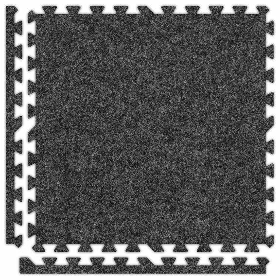 SoftCarpets Set in Dark Grey by Alessco Inc.